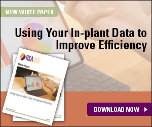 Click to read our new white paper: Using Your In-Plant Data to Improve Efficiency
