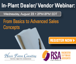 In-plant Dealer/Vendor education series webinar